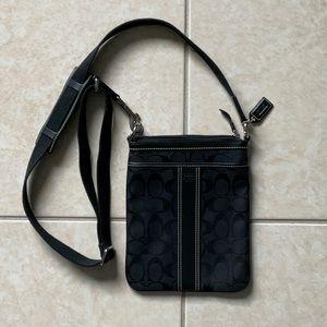 Coach 6016 Sutton Swing Pac crossbody canvas purse
